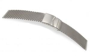 horlogeband milanaise ( metaal en staal)