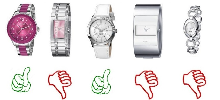 Esprit horlogeband