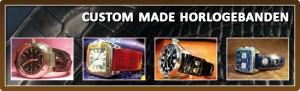 Custom made horlogebanden