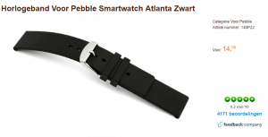 smartwatch band pebble