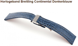 breitling continental donkerblauw