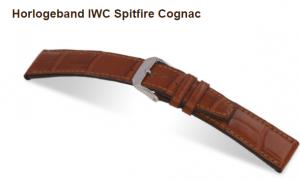 iwc spitfire cognac