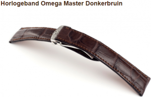 omega master donkerbruin