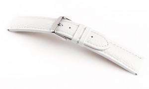 Horlogeband damian wit 28mm
