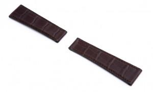 Rolex horlogebandje donkerbruin