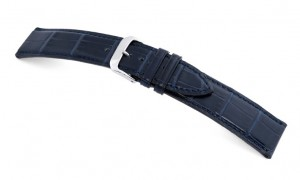 Horlogeband Senator Donkerblauw