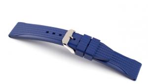 Horlogeband Hublot Premium Rubber Accent Blauw