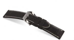 Modena horlogebanden Zwart