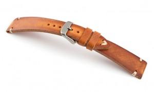 Horlogeband leer vintage cognac | populaire horlogebanden | horlogebanden specialist