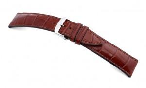 Horlogeband leer president mahagoni | populaire horlogebanden | Horlogebanden specialist
